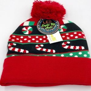 Capelli Christmas Light Up Knit Hat